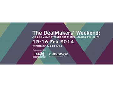 Deal Makers' Weekend في عمّان: تجمع رواد الأعمال بالمستثمرين