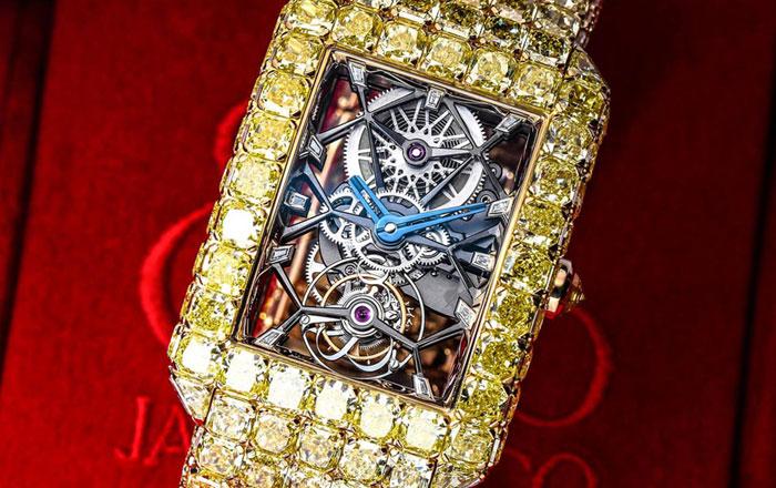نظرة على ساعة Millionaire الرائعة ذات ال6 مليون دولار !
