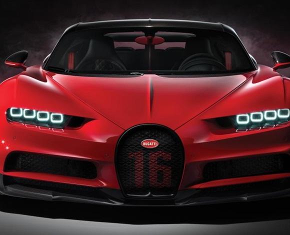 بوجاتي تكشف عن سيارة الأحلام الخارقة ... M Chiron Sport