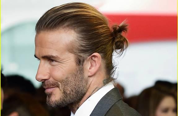 دافيد بيكهام يظهر بأفضل تصفيفات الشعر الرجالية