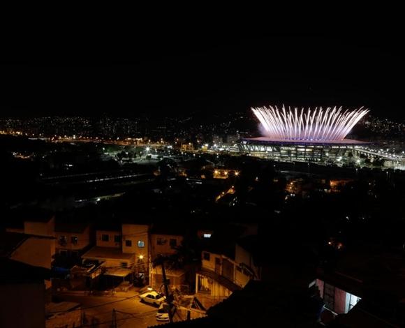بالصور... حفل افتتاح رائع لأولمبياد الريو