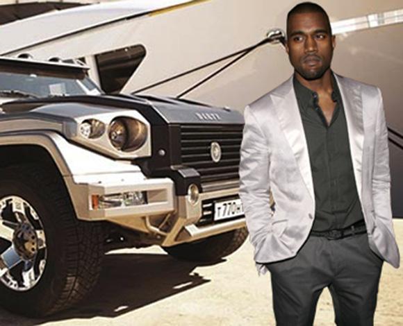كانييه ويست يشتري لأسرته سيارات مدرّعة بـ1.5 مليون دولار