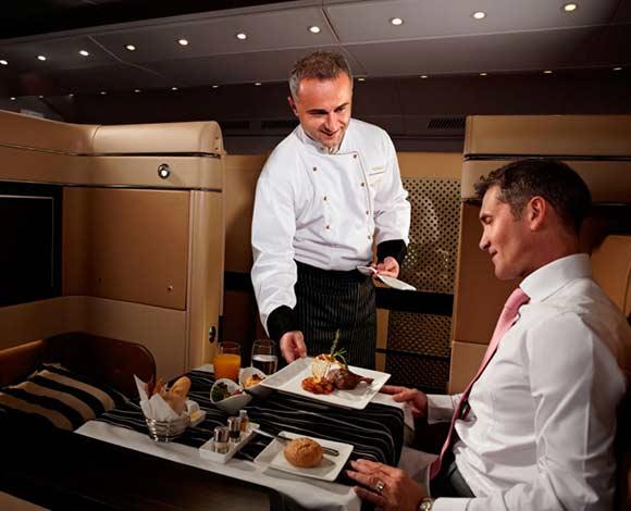 لذوي السفر الدائم: إليكم شركات طيران تستعين بطهاة المشاهير