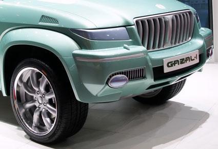 غزال 1 أول سيارة سعودية الصنع Ra2ed