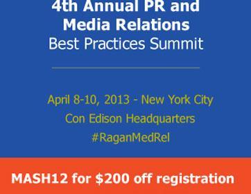 القمة الرابعة لممارسات أفضل في العلاقات العامة والإعلامية