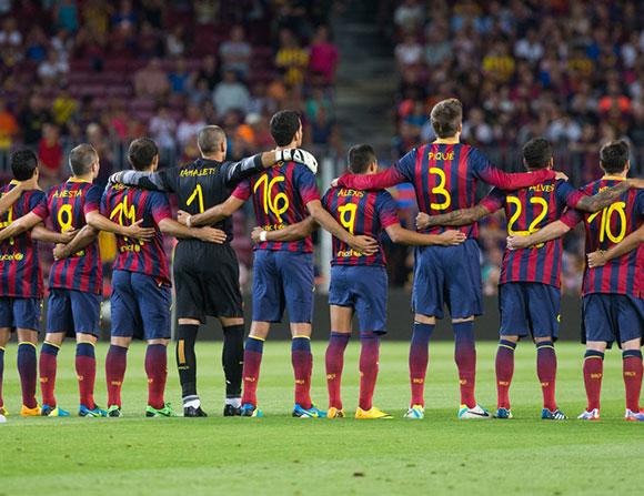برشلونة أفضل الأندية في أكبر 5 دوريات في أوروبا