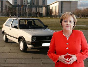 بيع سيارة ميركل القديمة بـ 10 آلاف يورو عبر موقع المزادات إي باي