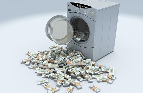 ما هو تبييض الاموال