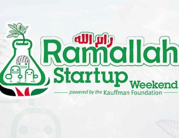 Startup Weekend في رام الله.