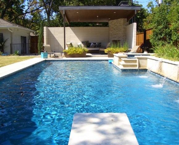 فخامة السباحة المنزليّة