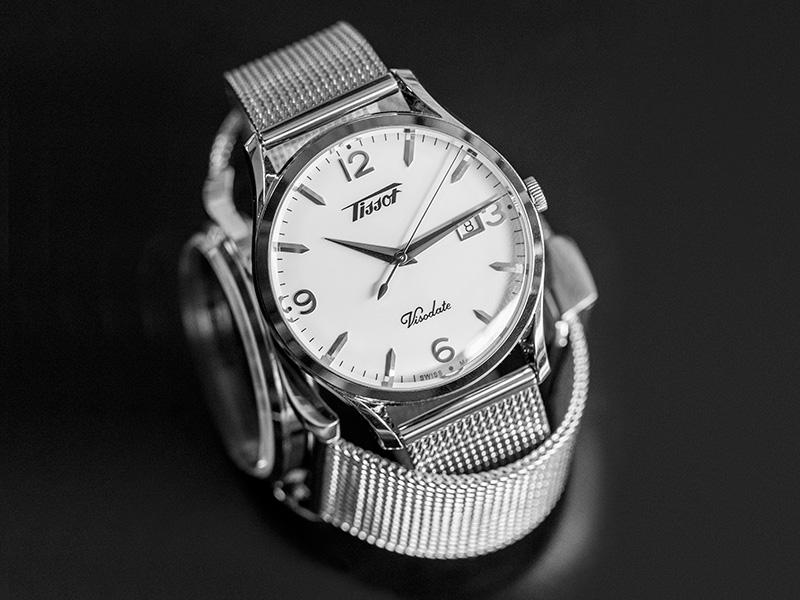 ساعة  Tissot Heritage Visodate Quart... تراث من الأناقة