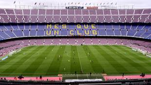 المدير العام لنادي برشلونة يتحدث عن رغبة النادي في البقاء في الدوري الإسباني