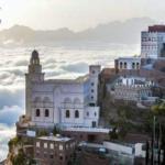 مدينة يمنية فوق السحاب .. صور