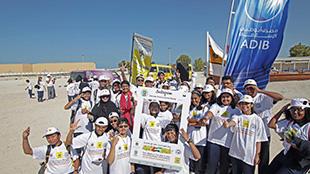 حملة نظفوا الإمارات تجمع 4 طن نفايات في إمارة أبوظبي