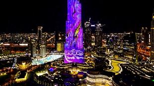 """""""برج خليفة"""" يحتفل بشهر رمضان المبارك مع عرضين استثنائيين على واجهة LED"""