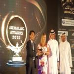 """عالم فيراري أبوظبي تفوز بجائزة """"أفضل مدينة ترفيهية"""" 2018 من مجلس الشرق الأوسط وشمال أفريقيا للترفيه والجذب السياحي"""