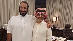 الوليد بن طلال يتعهد بدعم إصلاحات ولي العهد السعودي
