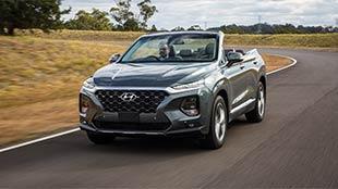 """اضغط لمشاهدة الفيديو: هيونداي تطلق نسخة كابريوليت من سيارات """"Santa Fe"""""""