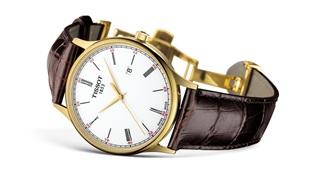 ذوق رفيع على النحو التقليدي ساعة Tissot Rose Dream Quartz Gold