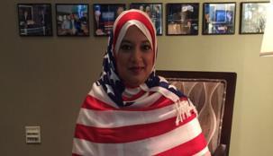 الهجوم على إمرأة أمريكية بسبب حجابها