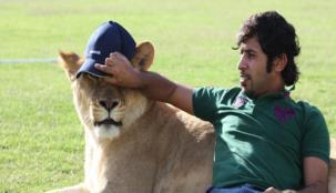تعرف على الإماراتي ... أشجع مروّض للحيوانات المفترسة