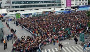 أكبر هجرة جماعية على الإطلاق تحدث الآن