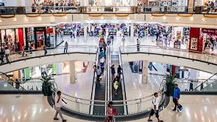 شاهد كيف اشعل سعوديون أجواء مركز تجاري بالرياض