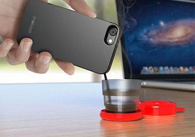 حافظة هاتف تصنع لكم كوباً من القهوة... في أي وقت وفي أي مكان!