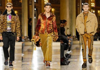 تشكيلة Versace لخريف وشتاء 2018