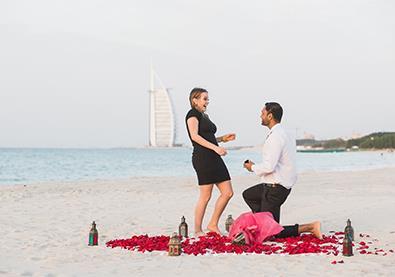 أفضل 5 أماكن في دبي لطلب الزواج