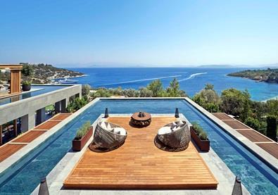 شاهِد بالصوَر واحد من أجمل فنادق مدينة بودروم التركيّة
