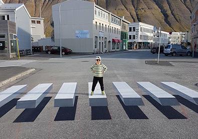 ممر للمشاة ثلاثي الأبعاد