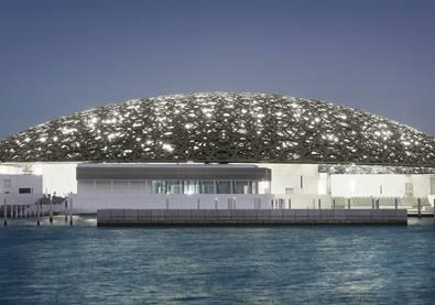 بالصوَر، من جزيرة السعديات، متحف اللوفر يفتح أبوابه في أبو ظبي