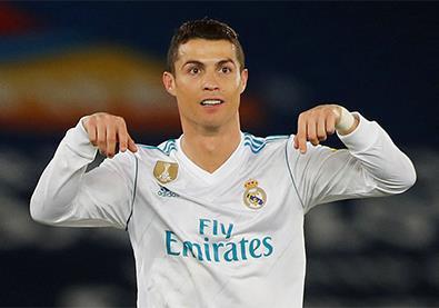 ريال مدريد الأكثر تهديفًا منذ بداية العام... رونالدو يتصدر