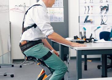 «كرسي» عالي التقنية لأصحاب مهن الحركة المستمرة