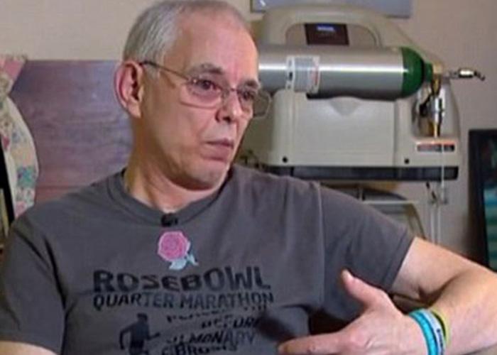 رجل مصاب بمرض رئوي لا علاج له ينهي الماراتون في 11 ساعة!