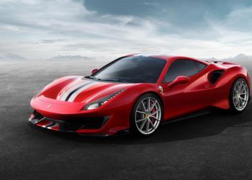 سيارة Ferrari 488 Pista .. أقوى السيارات الخارقة المصممة للطرقات