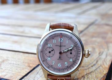 ساعة 1858 Chronograph Tachymeter .. إمكانات مميزة