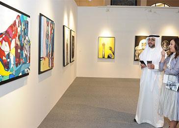 الدورة الثالثة من معرض الفن المعاصر فن البحرين عبر الحدود تساهم في توعية الحضور