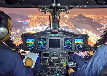 طائرات الأمن السعودية تقوم بطلعات جوية يومية في سماء مكة المكرمة