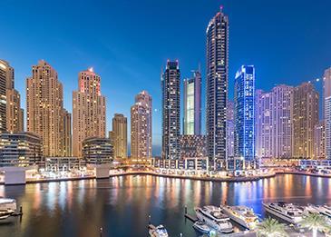بيزنيس باي ودبي مارينا تتصدران المناطق الأعلى طلباً عند مشتري العقارات في دبي