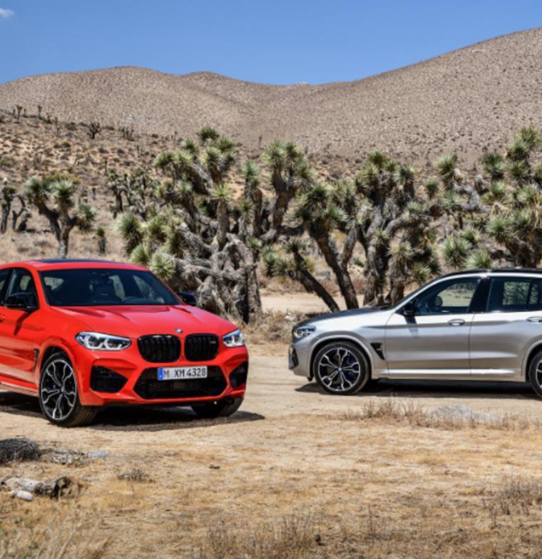 """""""بي.أم.دبليو"""" تسدل الستار رسمياً عن X4 M BMW و BMW X3 M الجديدتين كلياً للعام 2020"""