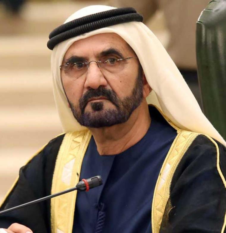 محمد بن راشد يراقب مؤشر قياس نسب السعادة في دبي