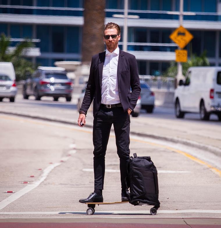إذا كنتم تملكون هذه الحقيبة فأنتم تملكون وسيلة نقل شخصية!