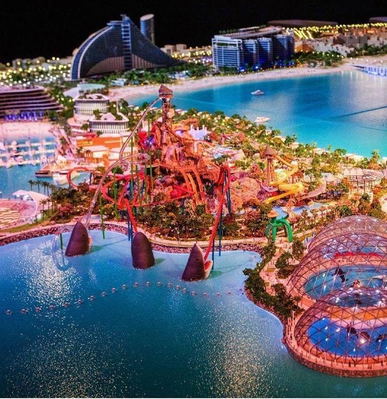عمان تخطط لافتتاح حديقة ألعاب مائية بنهاية العام الجاري