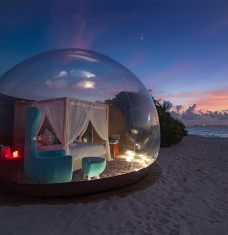 هل هذه أجمل غرفة في جزر المالديف ؟