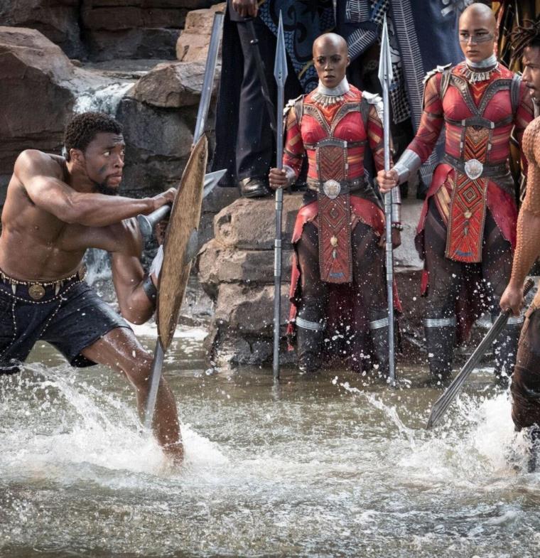 فيلم Black Panther أنصف الأبطال الخارقين ذوي البشرة السوداء