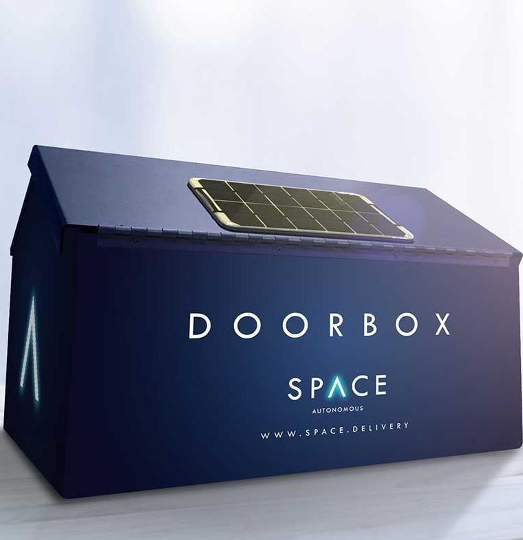DoorBox .. حل مبتكر لتفعيل خدمة الشحن بالطائرات الآلية في دبي