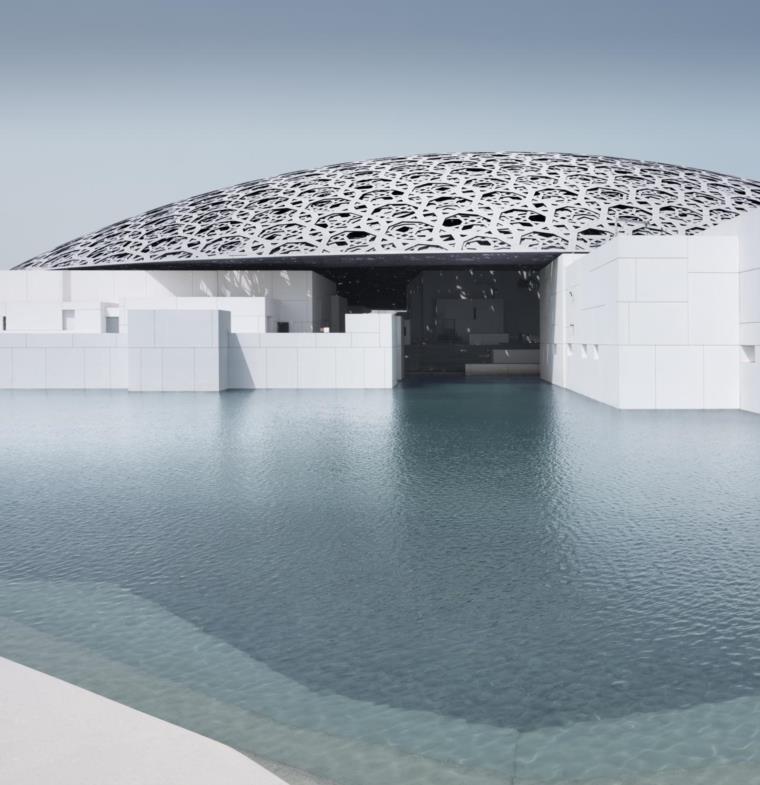 الكشف عن تفاصيل حفل افتتاح متحف اللوفر بأبوظبي