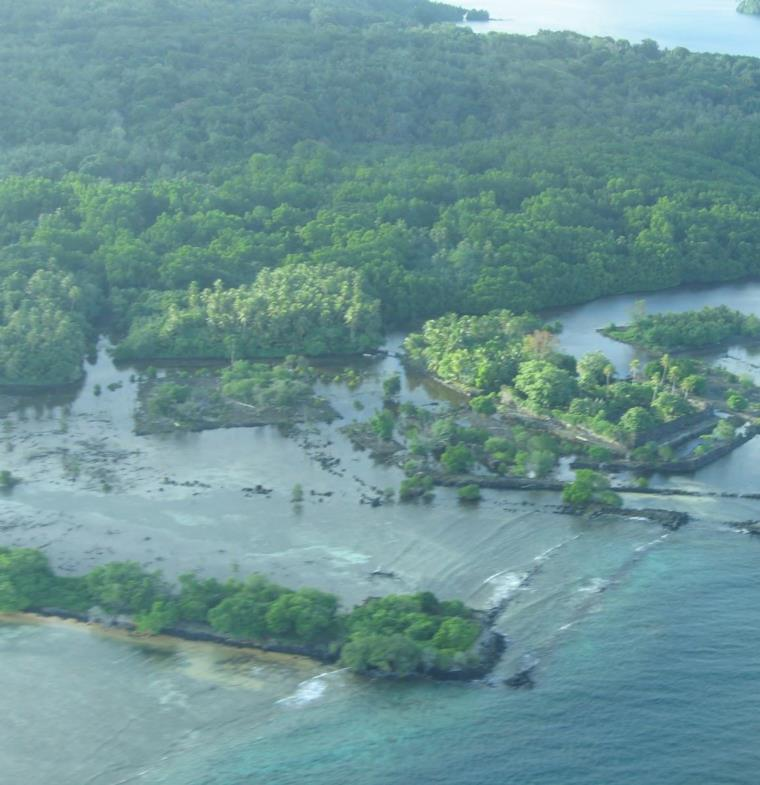 صور مذهلة لجزيرة وجدت في المحيط الهادئ تثير موجة من الشائعات